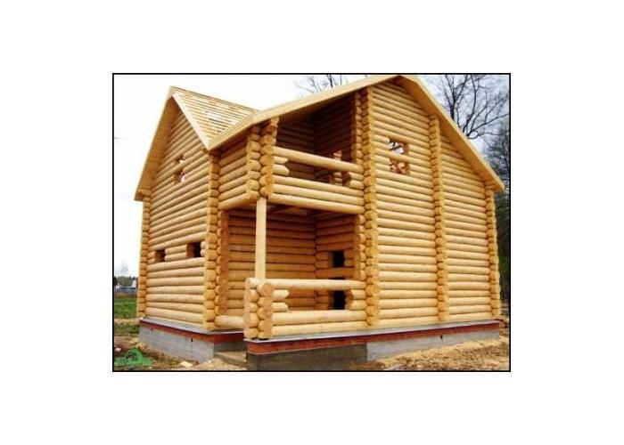 самый экологичный и теплый дом - деревянный